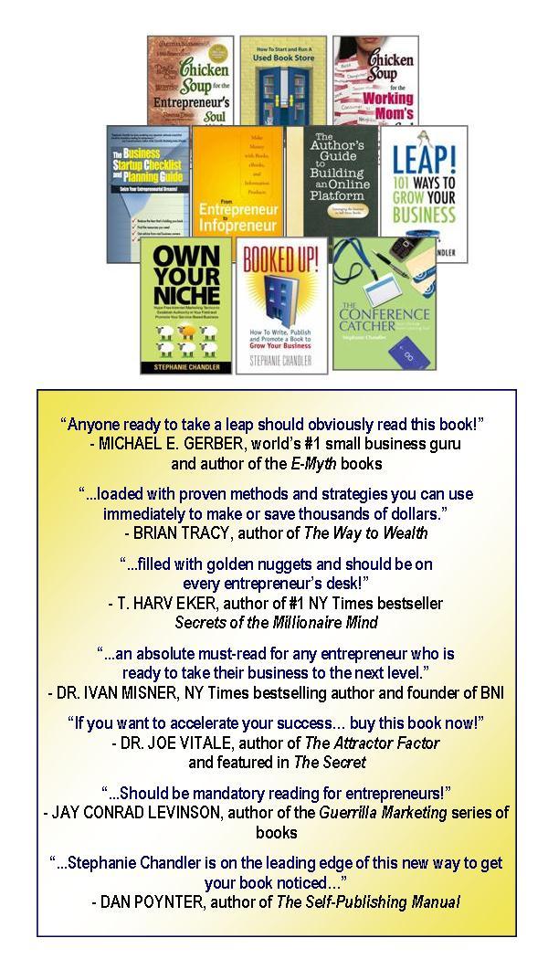 Books by Stephanie Chandler