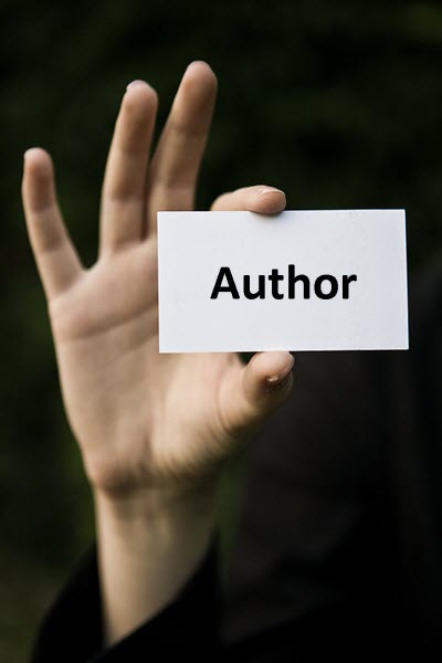 when to call yourself an author