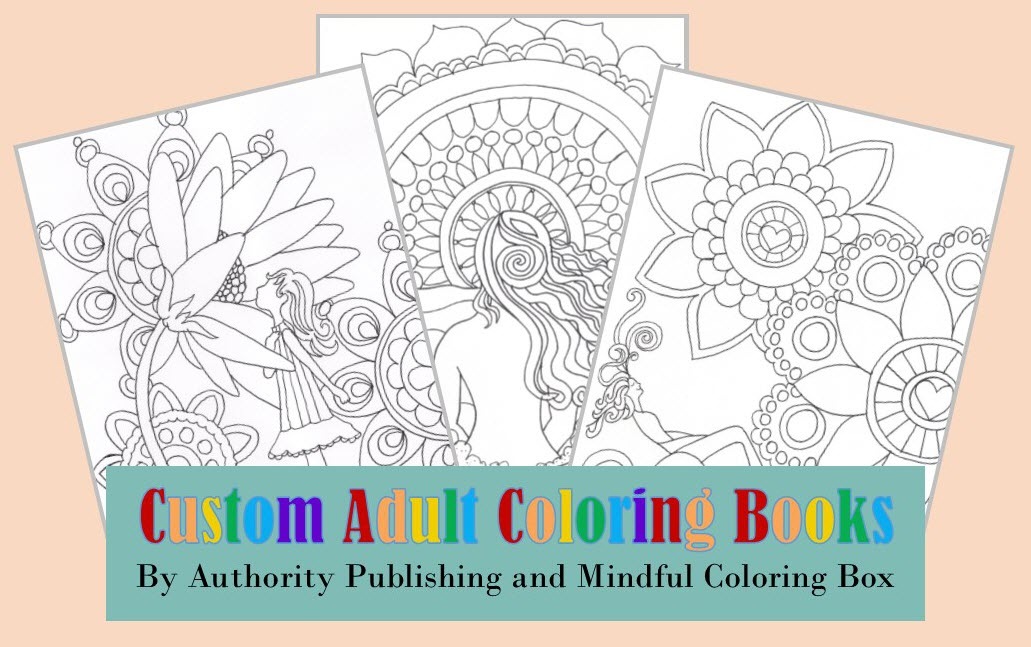 custom adult coloring books