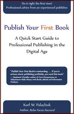 Publish your first book - self-publishing