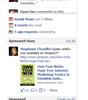 Amazon sponsoring facebook ads for authors