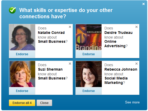 New LinkedIn Endorsements: How to Use Them and How to Disable Email Notifications