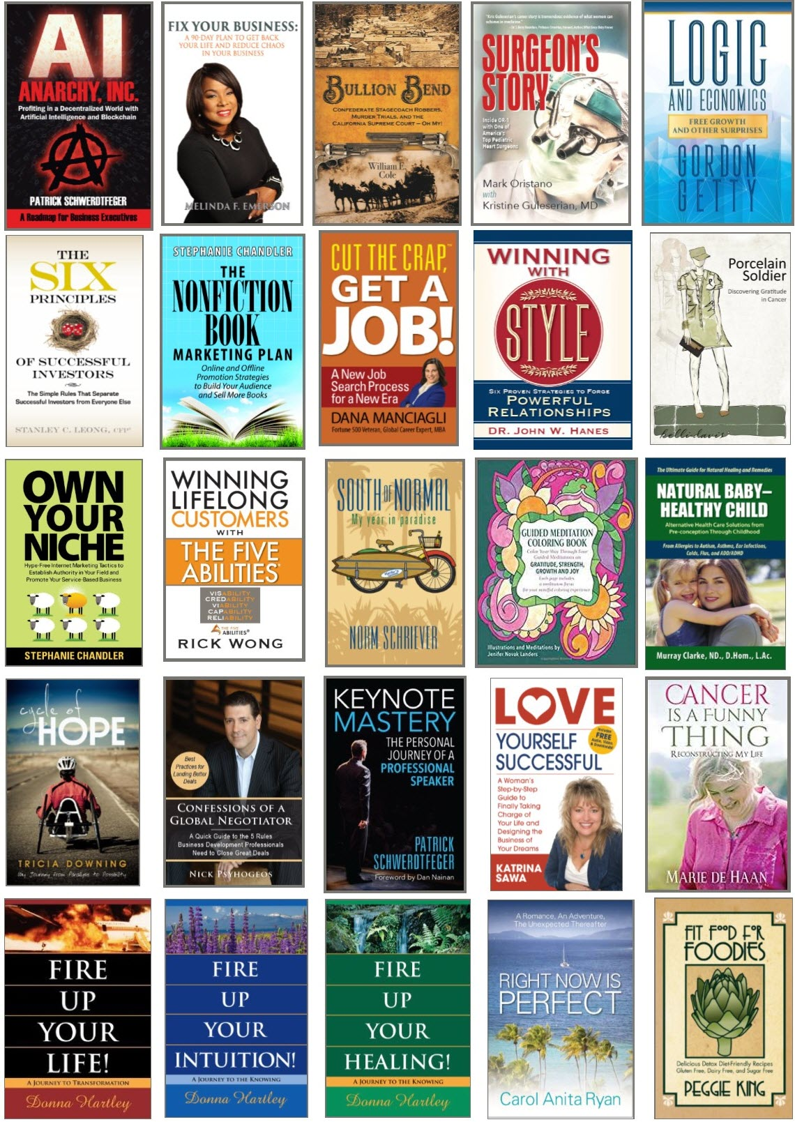 Authority Publishing - Nonfiction Book Cover Samples